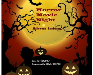 Horror Movie Night: The UPAAS Halloween Tambayan Special