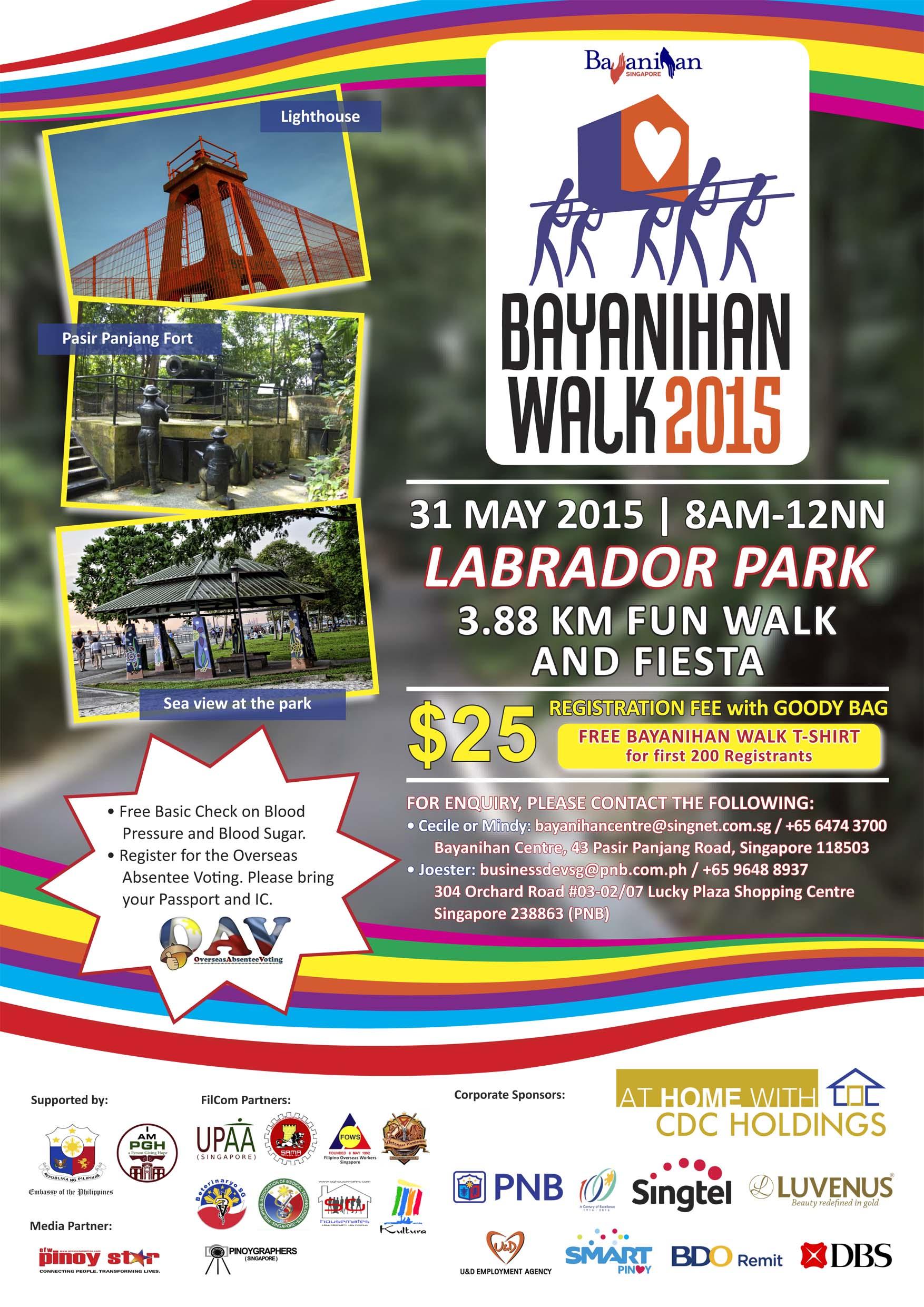 Bayanihan Walk 2015 EDM (20 Apr 2015)