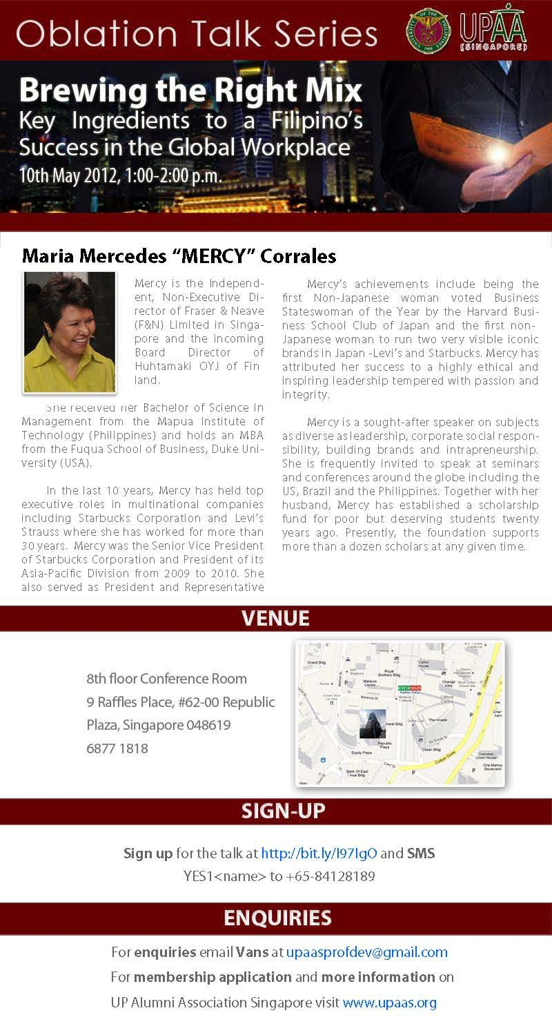 Mercy Corrales Talk